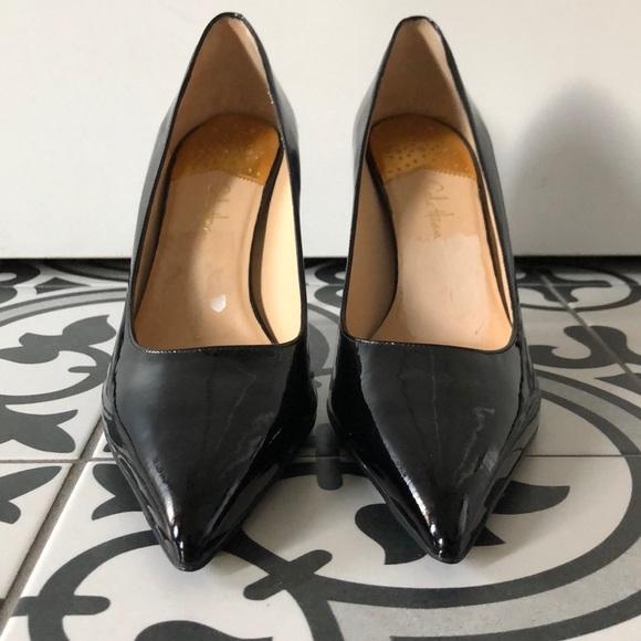 Nwot Black Patent Leather Pumps Size 11